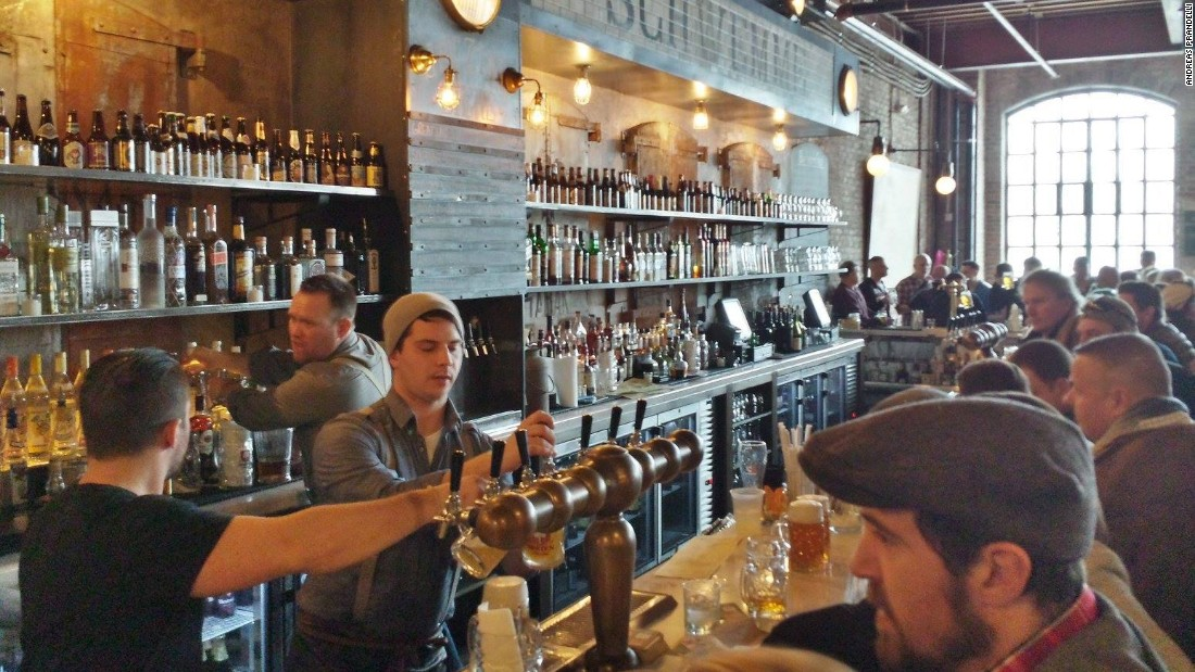 Asbury Festhalle and Biergarten offers an Austro-Hungarian take on the storied beer hall tradition, with a 9,000-square-foot outdoor rooftop area.