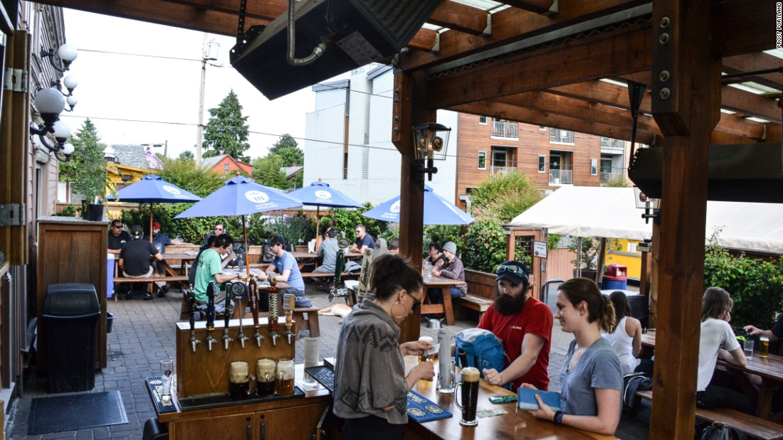 Portland, Oregon's Prost! allows patrons to bring in food from the city's famed food carts to pair with a beer menu focused on German offerings.