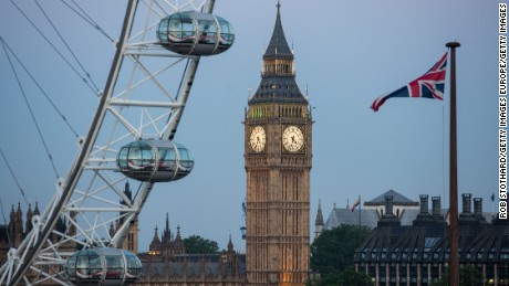 The Elizabeth Tower, commonly known as Big Ben after its main bell is part of the Palace.