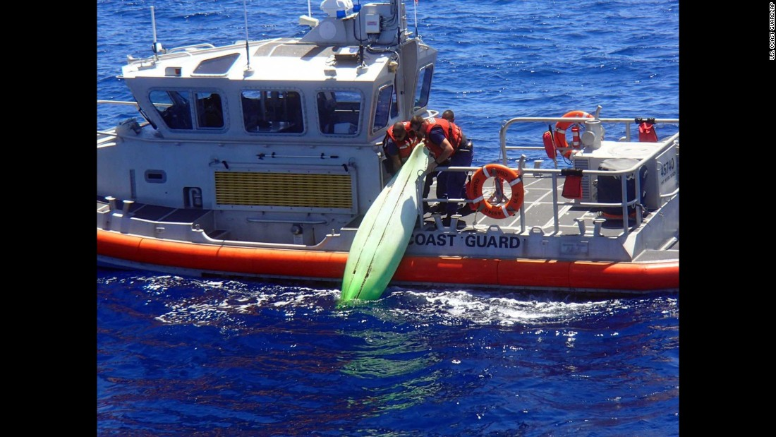 "Members of the U.S. Coast Guard recover a kayak off the coast of Sanibel, Florida, on Wednesday, June 22. The kayak was believed to belong to a man and his three teenage children who recently went missing while sailing. The bodies of Ace Kimberly, 45, and his daughter Becky, 17, were recovered. Kimberly's sons Roger and Donny were still missing when <a href=""http://www.cnn.com/2016/06/25/us/missing-florida-family/"" target=""_blank"">search operations were called off.</a>"