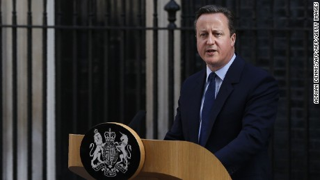 British PM announces resignation