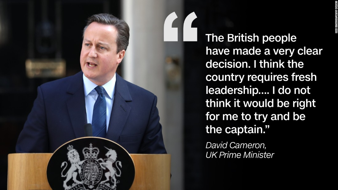 Quote graphic David Cameron