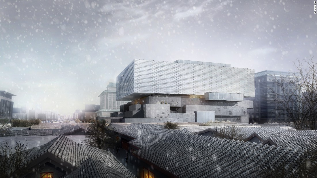 A combined art museum and auction house, the Guardian Art Center will be completed in 2017 near Beijing's famed Forbidden City. The hybrid space, designed for China's oldest art auction house, will also include several restaurants and a 120-room hotel.