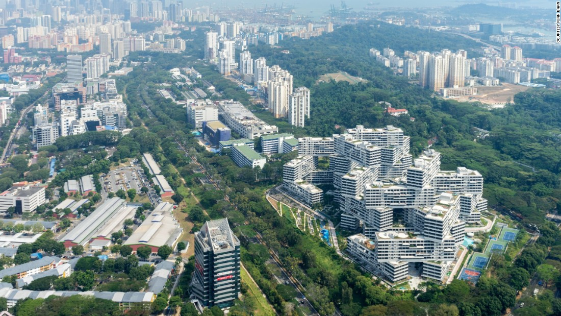 "Renowned British architect Peter Cook -- who was one of the jury that decided the award -- called the building a ""game changer.""  ""The Interlace makes a major urban statement (and) gives you a horizontal city,"" he said."