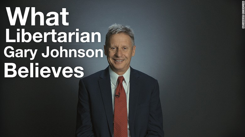 What Libertarian Gary Johnson believes in 2 minutes