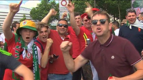 Football fans react to Brexit