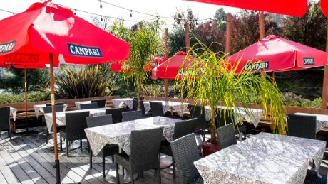 The Presidio Social Club in San Francisco is operating a summer beer garden on Wednesdays.