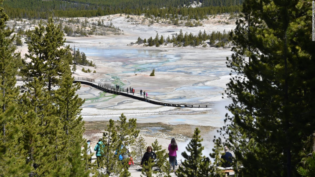 "There's no time like the centennial anniversary of the U.S. National Park Service to visit Yellowstone National Park, <a href=""http://www.cnn.com/2016/02/04/travel/national-park-service-history-first-sites-feat/"">the world's first national park</a>. It was created in 1872, 44 years before the park service was born."