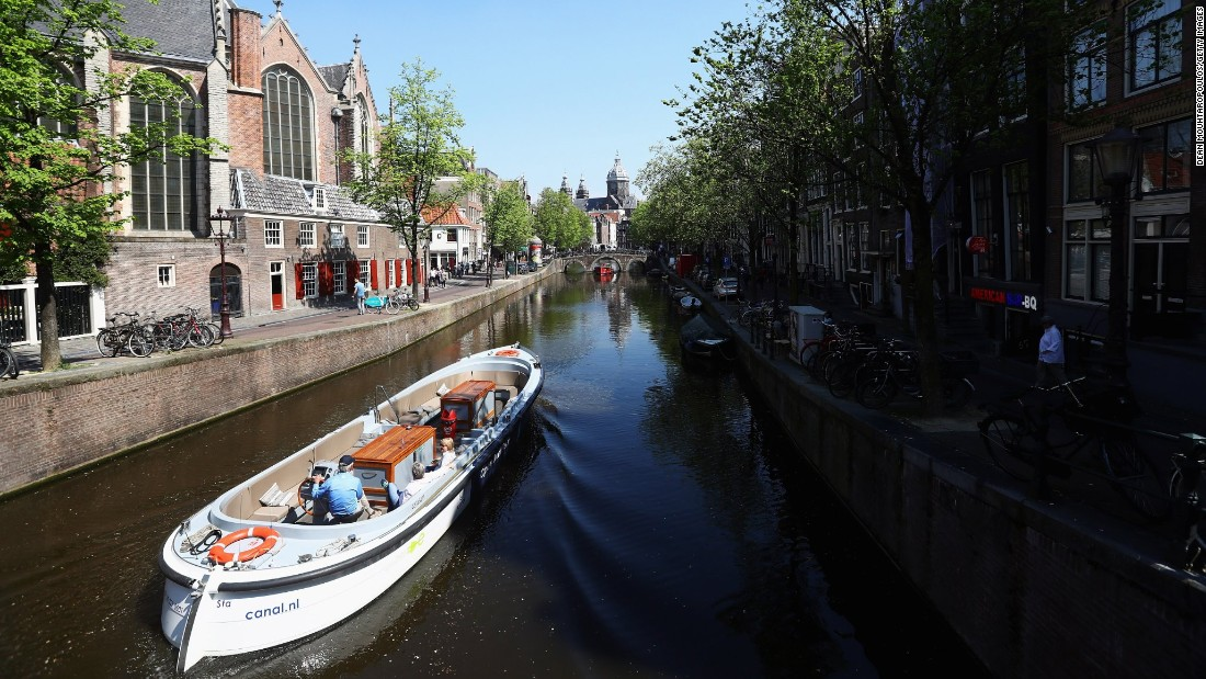 At first blush, Amsterdam's Red Light District is an obvious draw for the college crowd, but the city has so much more to offer. Exploring the maze of canals is a great way to get acquainted with the city.