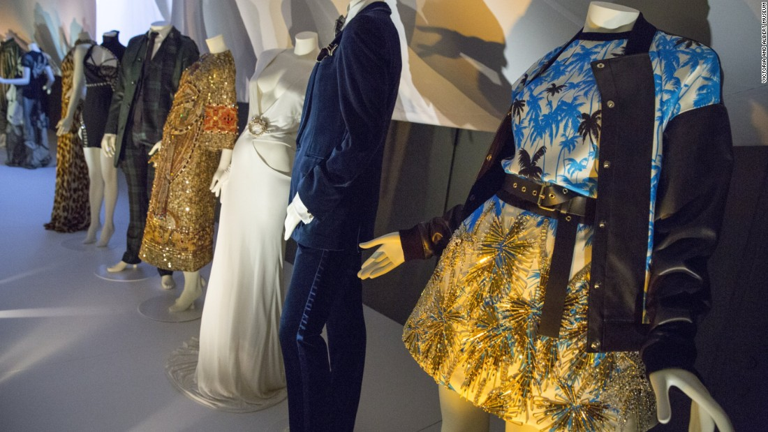 Installation view of <em>The Glamor of Italian Fashion 1945-2014. </em>Events elsewhere in the British capital including <em>Vogue 100: A Century of Style</em> at the National Portrait Gallery and <em>Making and Unmaking</em> at the Camden Arts Centre discuss the intersection of art and fashion.