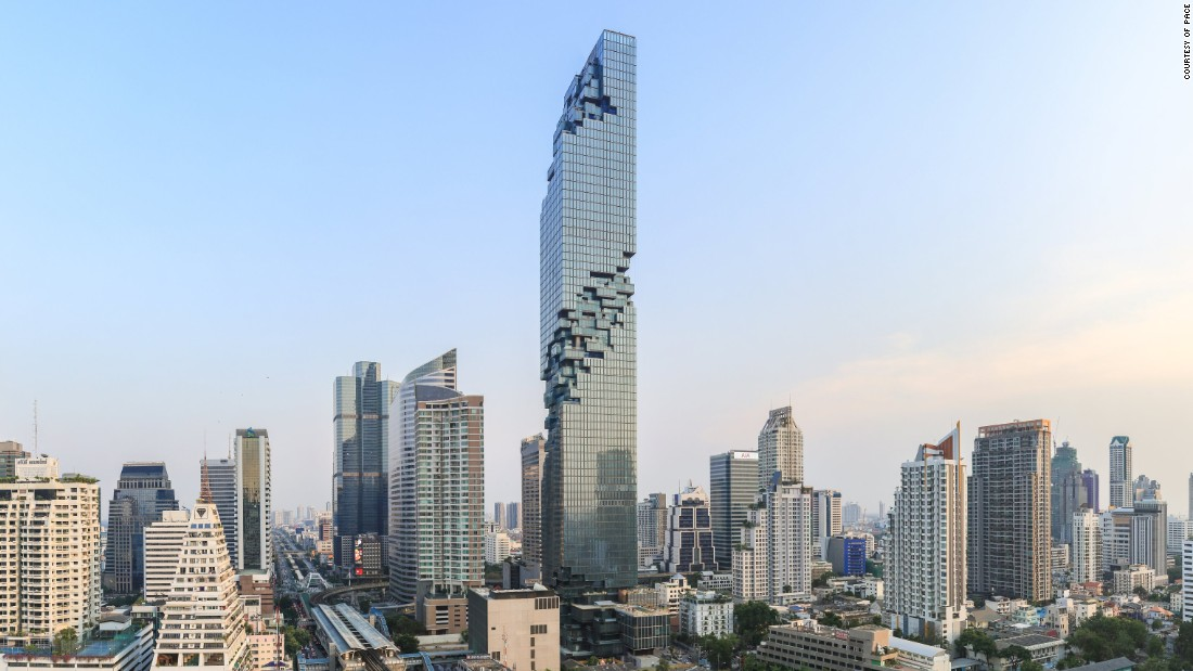 """MahaNakhon is a vision of a tower that is very much about process, about becoming, about developing,"" Scheeren says of the building."