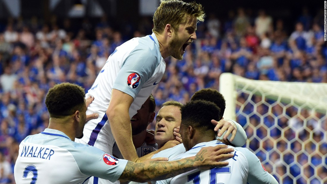The match started brightly for England after captain Wayne Rooney scored a penalty kick in the fourth minute.