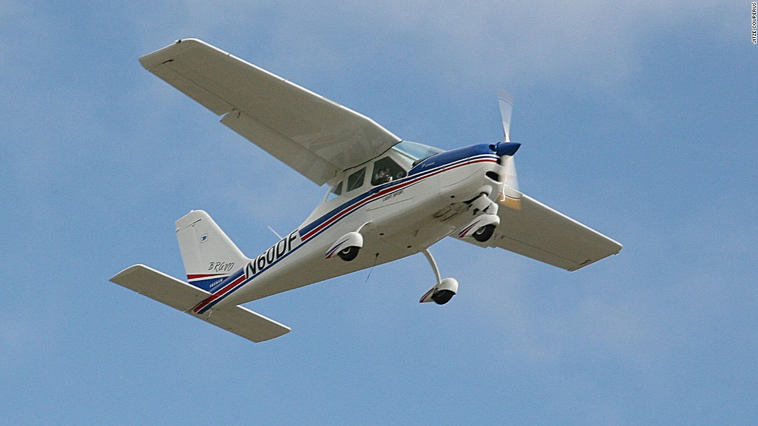 "Sloane's flying classroom was a Tecnam P2004 ""Bravo"" -- a two-seater airplane that weighs only 550 pounds empty."