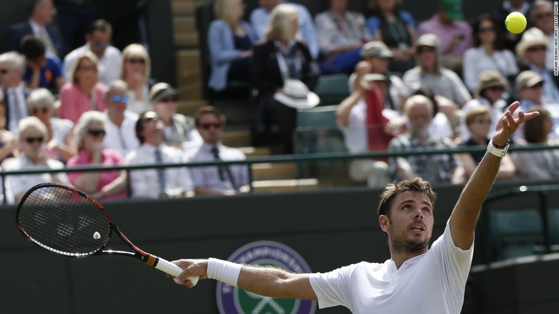 Swiss fourth seed Stan Wawrinka set up an intriguing second-round clash with Juan Martin del Potro as he beat young American Taylor Fritz despite losing the first set. Injury-plagued former U.S. Open champion Del Potro, playing his first grand slam match since January 2014, defeated French veteran Stephane Robert.