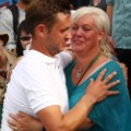 marcus willis and mother