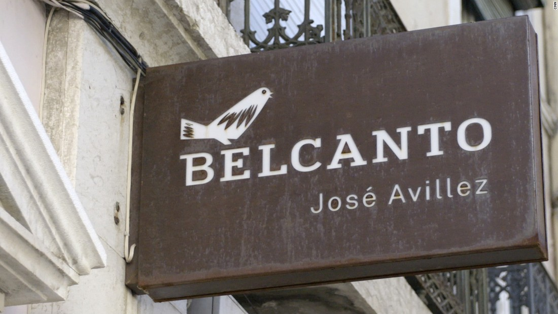 Belcanto is Avillez's most successful establishment so far. It earned a second Michelin star in 2014.