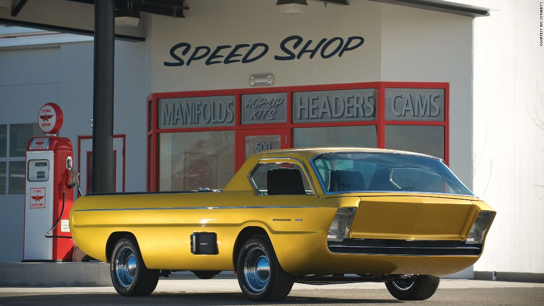 The Dodge Deora, the 1965 front-loading pickup truck customized by Mike and Larry Alexander, is widely considered the most famous custom car in history. <br /><br />In fact, the Deora was so famous and revered when it was first introduced that in 1968, Hot Wheels immortalized it as part of its first line of toy cars.