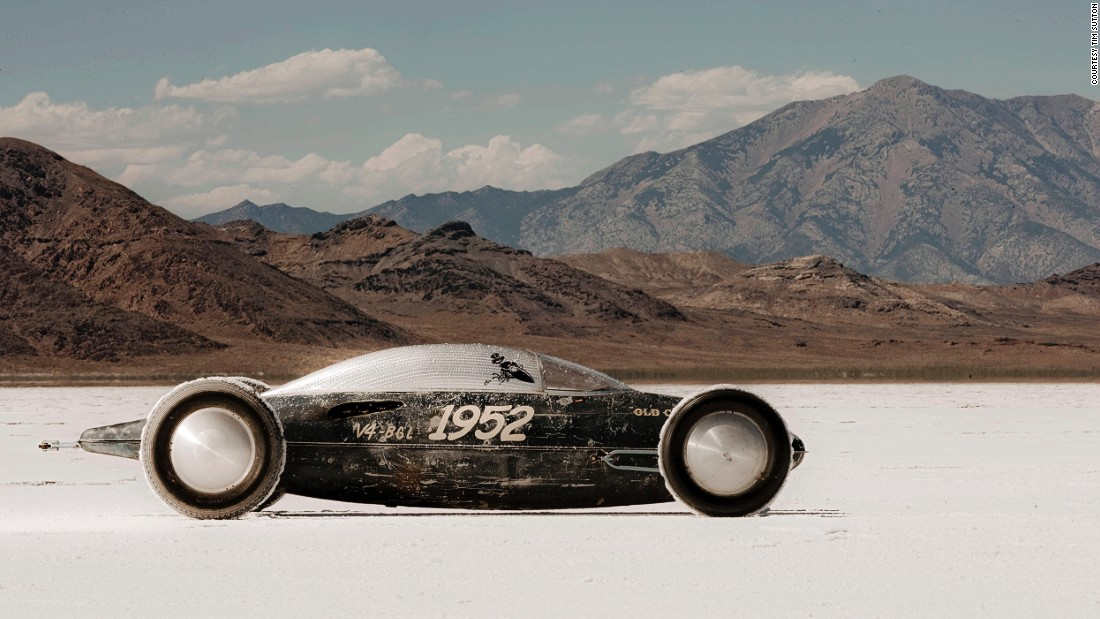This hot rod -- made from the underbody fuel cell of a WWII Lockheed fighter jet (yes, that's the original paint job), 18-inch milk truck wheels, and a Ford engine from 1932 -- is a testament to creative recycling.