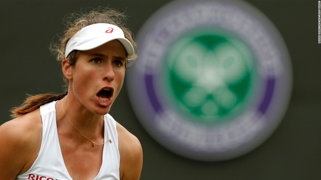 Britain's Johanna Konta also progressed, beating 22-year-old Monica Puig of Puerto Rico.