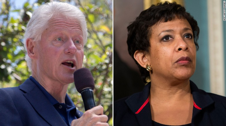Loretta Lynch has private meeting with Bill Clinton
