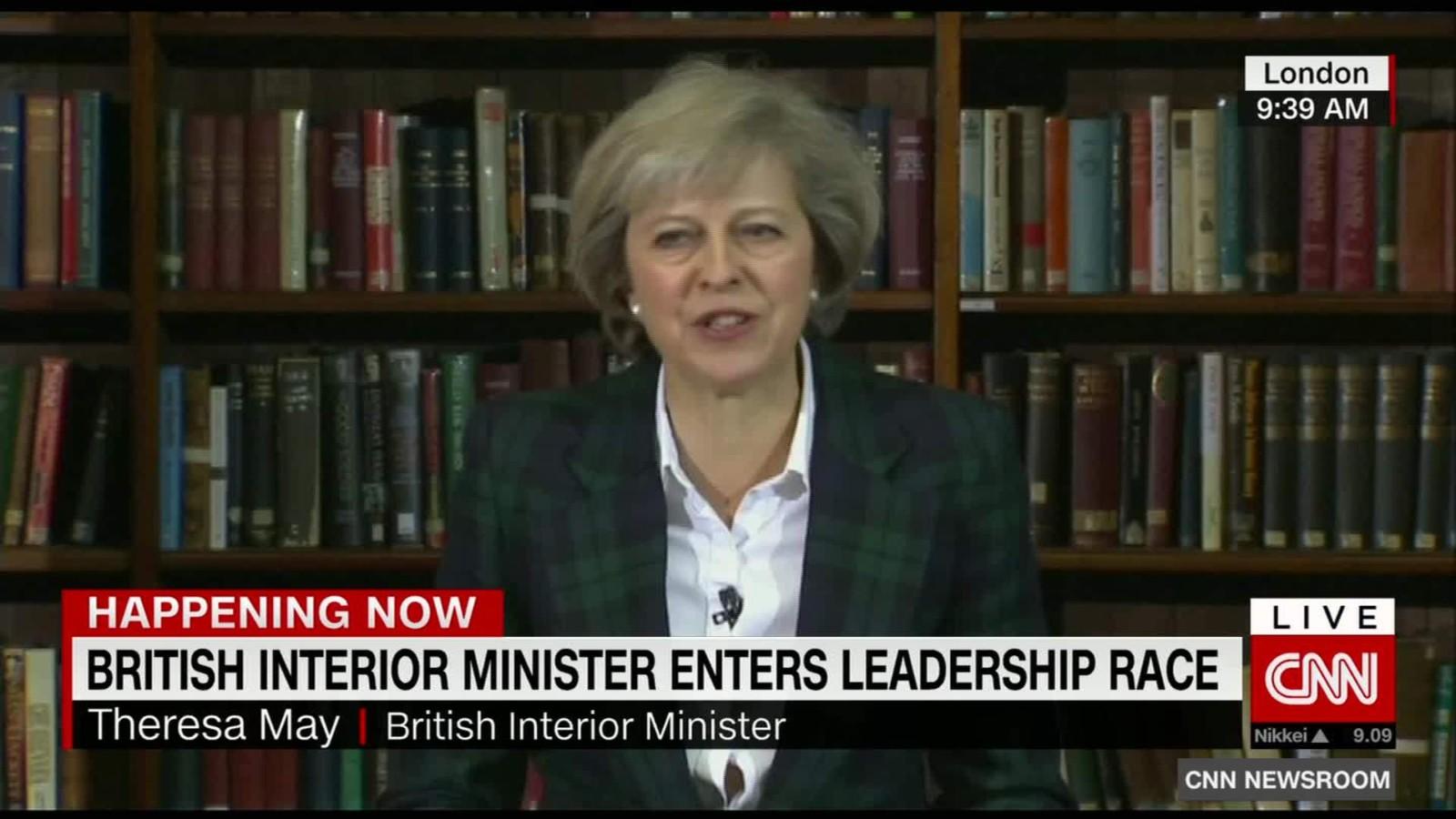Brexit Boris Johnson says he won't run for prime minister