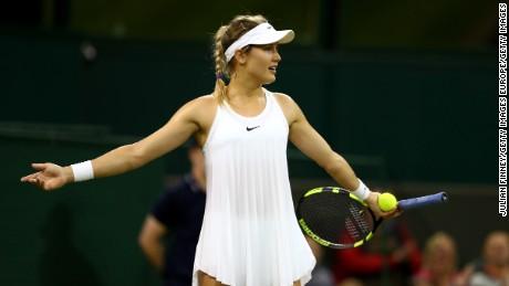 Wimbledon 2016: Nike dress causes stir but Bouchard doesn't mind