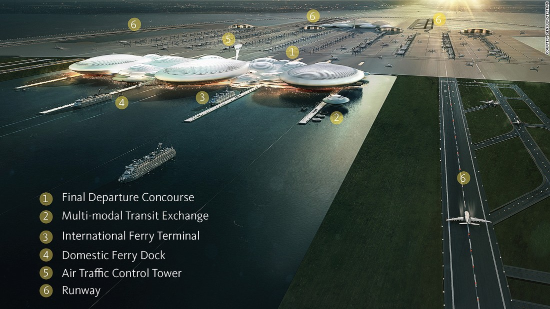 The scheme was rejected by the UK Airports Commission in 2014, although Gensler's managing director insists the final decision has not yet been made and that an airport in the estuary should not be ruled out.