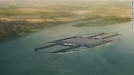 Gensler's proposal for southeast England's airport expansion.