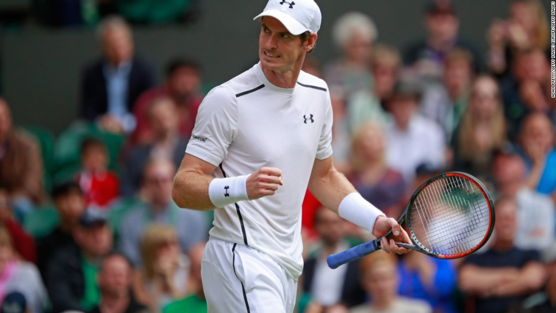 Another Wimbledon winner, Andy Murray, routed Yen-Hsun Lu 6-3 6-2 6-1 to progress.