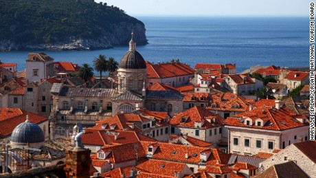 Dubrovnik basks in more than 250 days of sunshine and an average temperature of 17C.