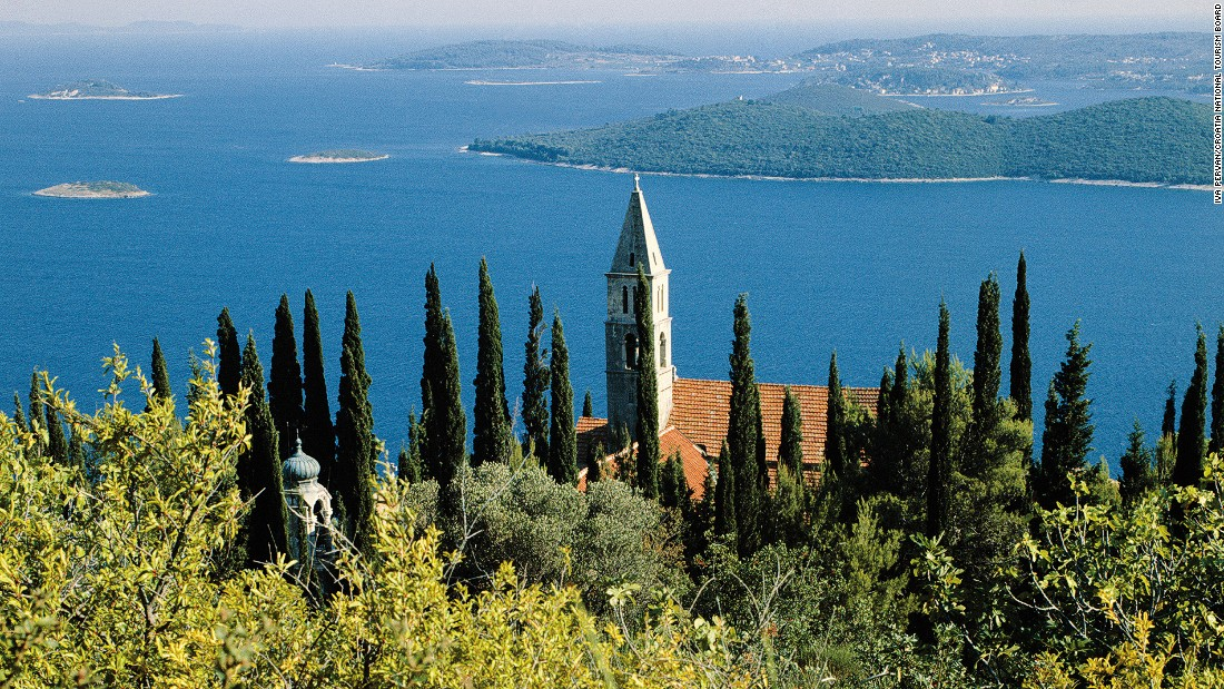 Our Lady of Angels is a monastery found in a dense pine and cypress wood overseeing the shore of Orebic. The town was also a settlement for sailors and captains who built extravagant Baroque-style homes.