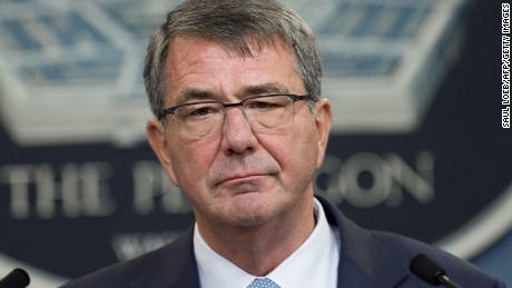 Ash Carter signals support for Mattis pick, upbraids Russia