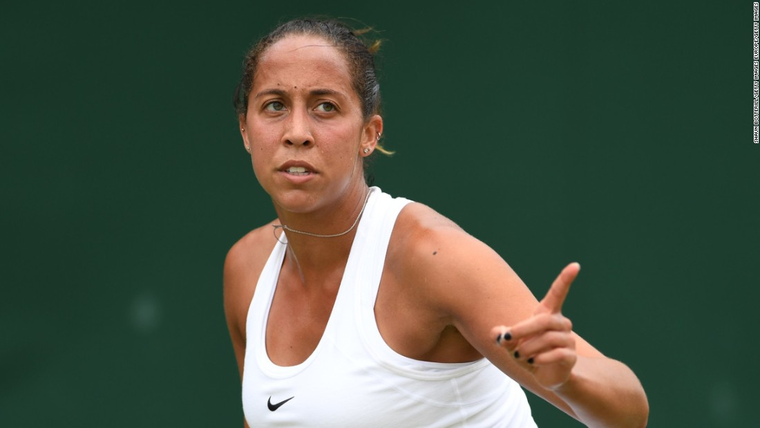 America's Madison Keys, seeded 9, won in three sets against former semifinalist Kirsten Flipkens of Belgium.