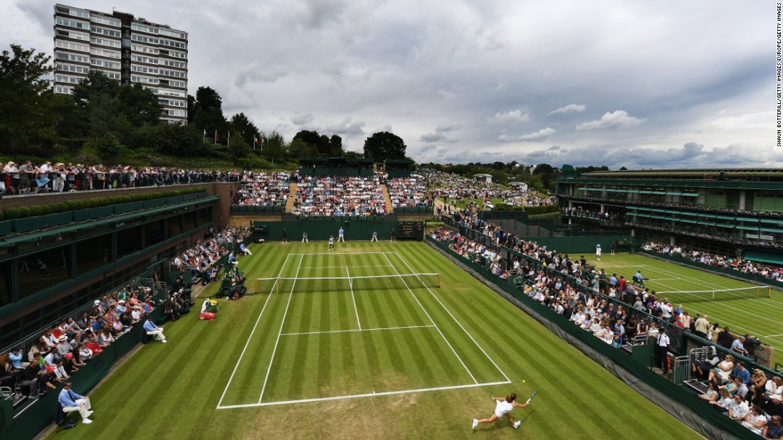 America's five-time champion Venus Williams was handed a slot on court 18, Wimbledon's smallest show court -- a decision which attracted criticism.