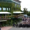 Wimbledon general view crowd