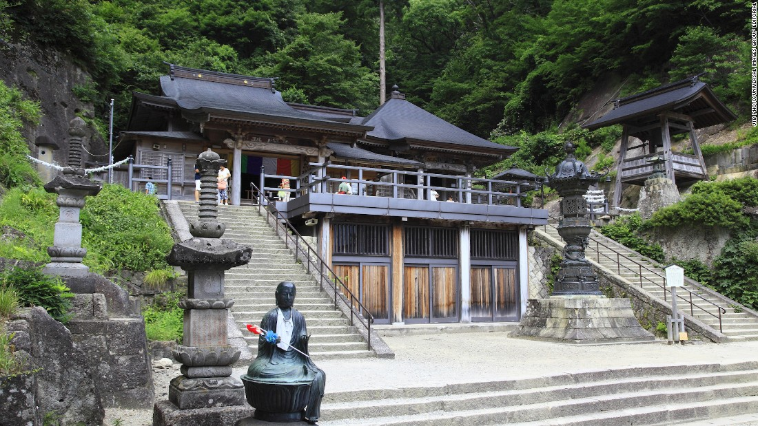Okunoin, Yamadera's main hall. The temple complex is open daily, from 8 a.m. to 5 p.m. Entrance costs 300 yen -- about $2.90.