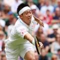 Wimbledon day four Kei Nishikori