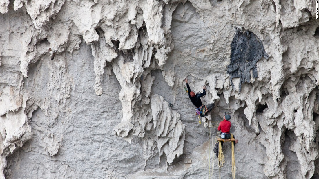 n 2011, outdoor equipment company Petzl invited hundreds of climbers to the region. They bolted more than 300 climbing routes in the area.
