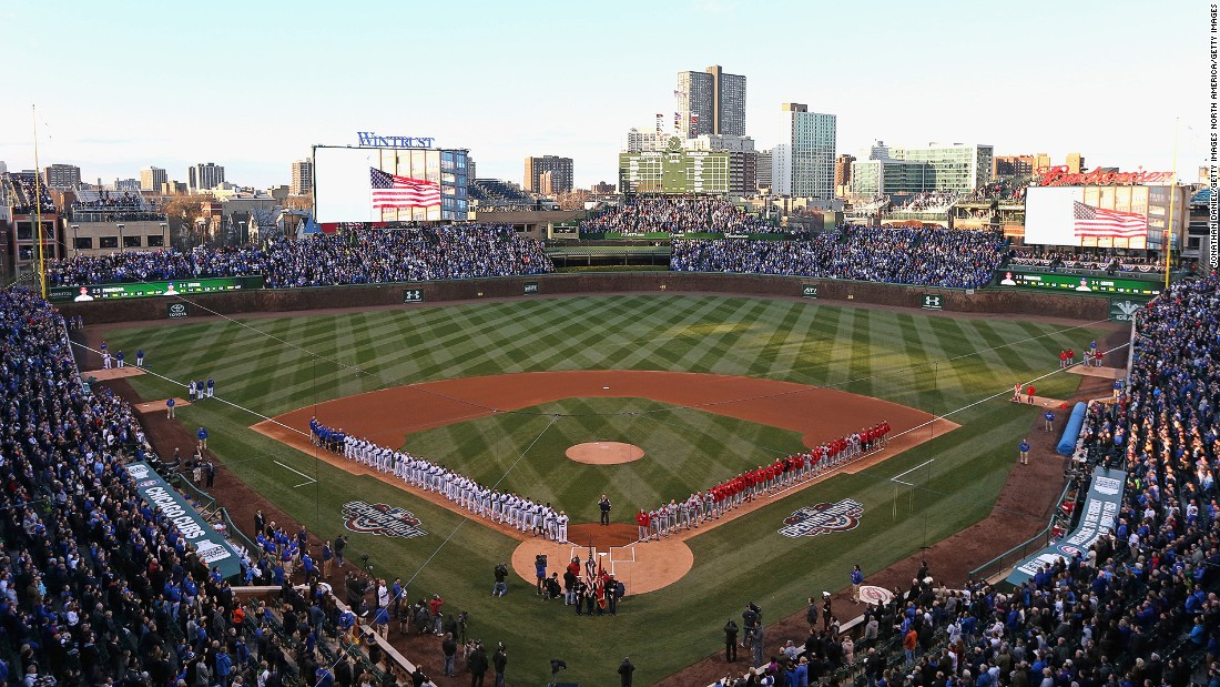 "<strong>Wrigley Field, Chicago:</strong> One of the last old-school baseball stadiums in America, Wrigley Field is a place to experience the up-close joys of baseball. ""No matter where you sit, you are close to the field,"" says journalist Carrie Kaufman."