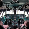 north korea air koryo IL-76 cockpit