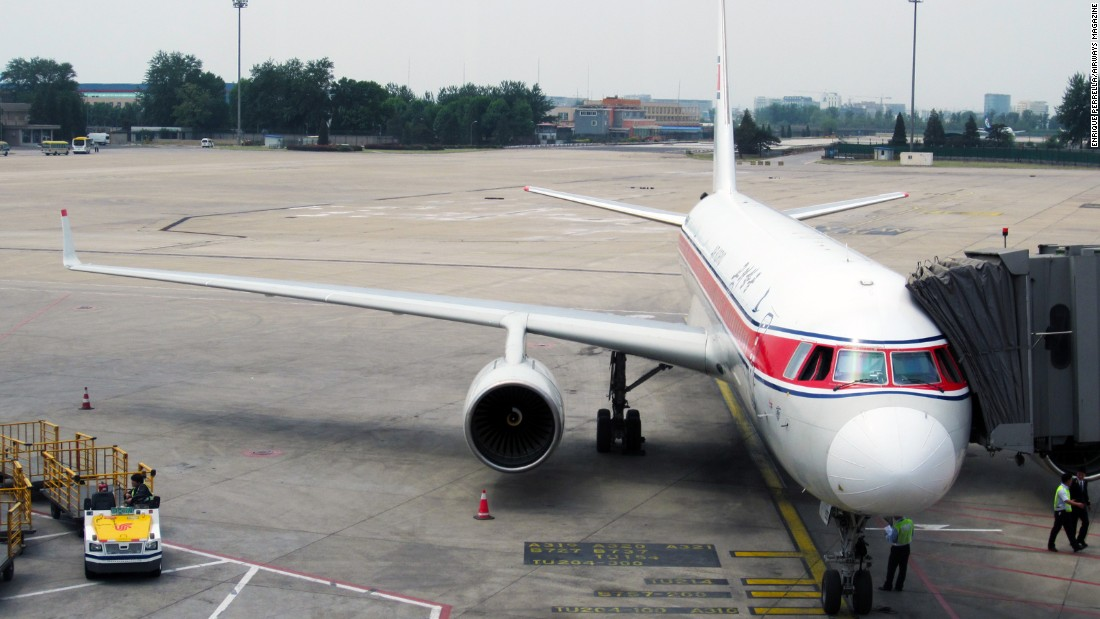 "Last May, a group of these self-described ""avgeeks"" flew on several of these rare planes. The trip to North Korea started out at China's Beijing Capital International Airport aboard this Air Koryo Tupolev Tu-204 built in 2009. It's the carrier's flagship airliner."