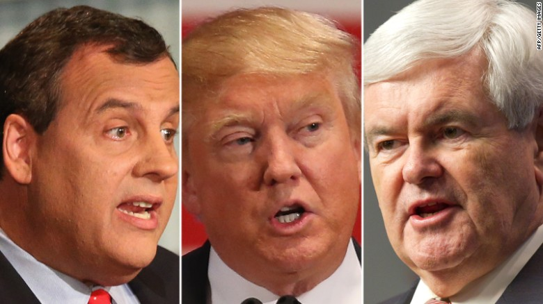 Report: Gingrich, Christie leading Trump VP list