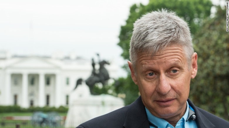 "Gary Johnson says America should ""embrace immigration"""