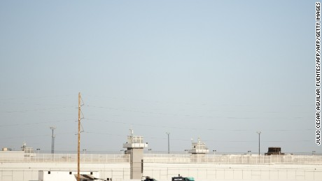 The Mexican Army guards the prison where El Chapo is currently being held.