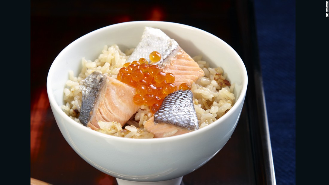 "Salmon has always played an important role in Tohoku cuisine and harako meshi (literally ""salmon child rice"") is a ""signature dish"" of the region. Often featured at family gatherings, every household seems to have its own rendition."