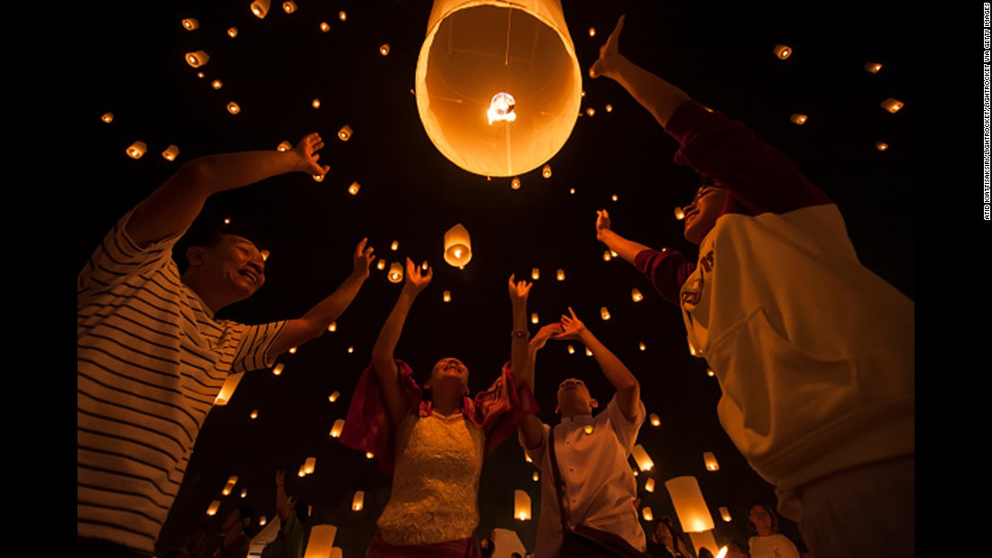 """There are gorgeous temples with distinctive peaked roofs, and barefoot Buddhist monks going about their business. Chiang Mai gets a lot of tourists, but manages to feel laid-back,"" says Travel + Leisure News Director Sara Clemence. The town is well-known for the Yi Peng Festival, where people release paper lanterns to pay their respects to the Buddha and clean out their bad luck."