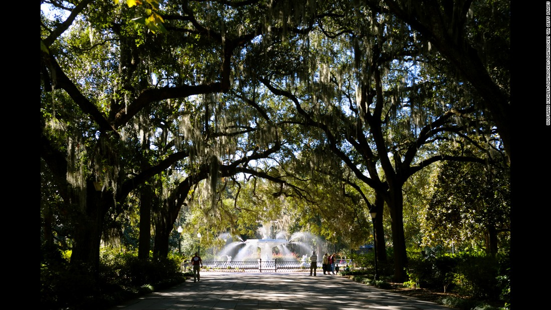 "Savannah is ""an iconic Southern city, with antebellum mansions sheltered by moss-draped live oaks,"" says Clemence. ""First-time visitors must check out a walking tour. But Savannah doesn't just live in the past; it has up-to-date cultural institutions like the SCAD Museum of Art, industrial-cool restaurants and minimalist boutiques."""