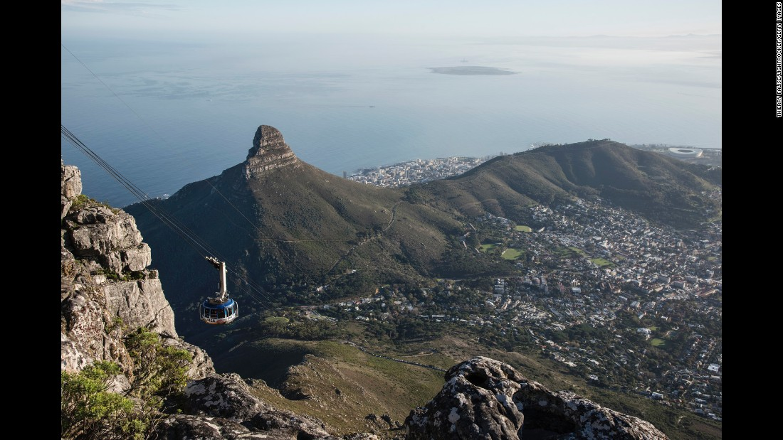 """It's a fascinating and cosmopolitan town, but Cape Town's natural beauty is truly extraordinary,"" says Clemence. ""There's iconic Table Mountain (a cable car takes visitors to the top of the mountain), the vineyards of the Cape Winelands and beaches where enormous boulders form little coves you can have all to yourself."""
