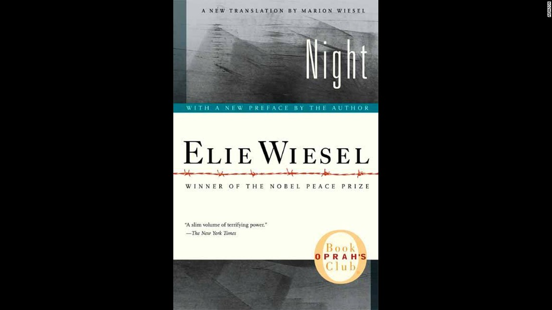"Elie Wiesel's first book, ""Night,"" published a decade after World War II ended, recounted his Holocaust experiences. Originally published in French as ""La Nuit,"" the book has been translated into 30 languages and has sold millions of copies."