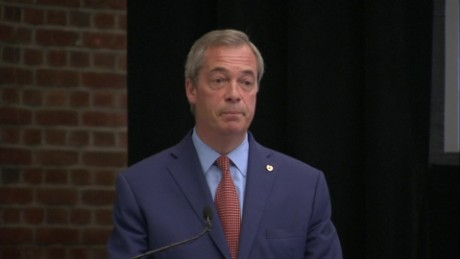 Nigel Farage said he wanted his life back after announcing his decision.